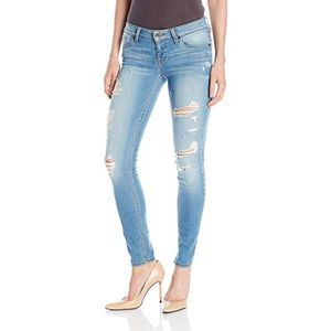 Guess Power Skinny Low Distressed